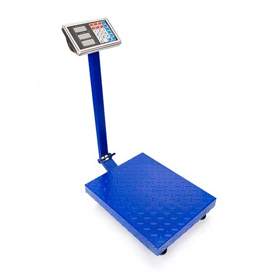 balanza 150 kg azul